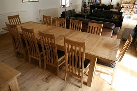 large dining table with awesome seats 10 12 14 16 people huge big tables plans