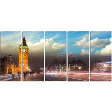 designart big ben from westminster bridge cityscape photo metal wall art free shipping today overstock 18750219 on big ben metal wall art with designart big ben from westminster bridge cityscape photo metal