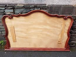 large antique sculptured picture frame without mirror restaurant menu board