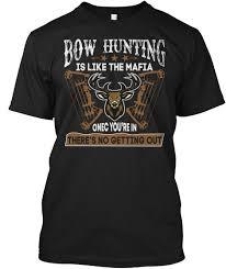 funny bow hunting shirts clothing