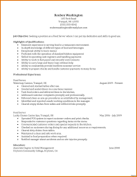 Cocktail Waitress Job Description For Resume Awesome Server Resume Examples Cocktail Waitress Example For 28