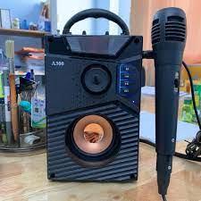 Loa hát karaoke có mic - Loa Công Suất Lớn A300 Cao Cấp cắm trực tiếp Hat Karaoke  Bluetooth Kẹo Kéo - TẶNG KÈM MIC - Loa Bluetooth