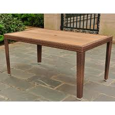 Aluminum Outdoor Dining Table Aluminum Patio Dining Tables