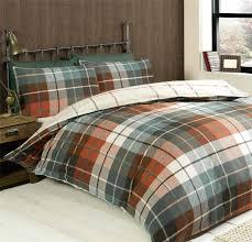 plaid flannel duvet cover jigsaw wobble spot grey pink spotty cot bed polka dot single