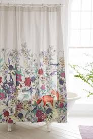 beautiful shower curtains. curtains: curtains alluring forest critters shower curtainretty and more staggering yellow or: 15 beautiful e