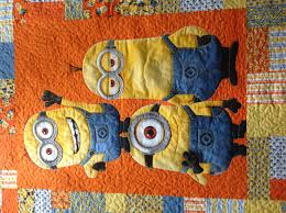 How to make a Minions quilt | quilts | Pinterest | Stitch ... & How to make a Minions quilt Adamdwight.com