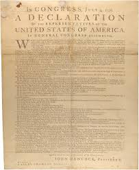 making it official the day the declaration of independence was declaration of independence dunlap broadside1776 00301 2000 001