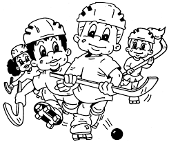 Small Picture Coloring Pages Hockey