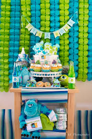 Monster Inc Baby Shower Decorations Puzzleprintsblog