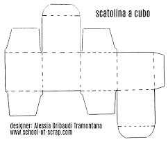 Scatolina Fai Da Te A Cubo Velocissima Alessia Scrap Craft Con