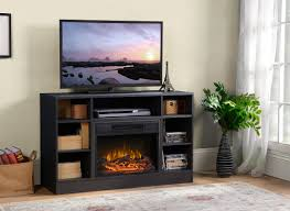 Oakley Media Electric Fireplace TV Stand