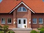 Фото облицовки клинкерной плиткой фасадов домов