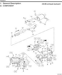 stock n a exhaust diagrams for the curious and those who need to first off the stock exhaust diagram we recognize for imprezas since 1993 sans the single port 2 2 s i can get that one later if requested