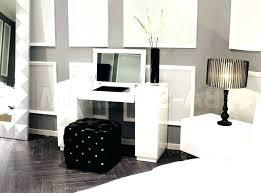 wall desk mirror. Interesting Wall Fantastic Vanity Desk With Drawers Black  Lights Mirror Three In Wall Desk Mirror L
