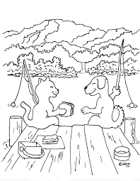 Small Picture Nice Dog And Cat Coloring Pages Best Coloring 5598 Unknown