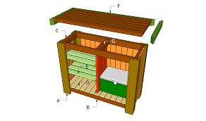 free outdoor wet bar plans plans diy free kitchen island