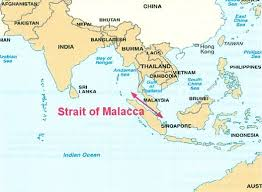 This Map Shows Where The Strait Of Malacca Is And You Can