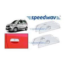sdwav chrome plated car door handle cover for maruti wagonr set of 4 car door handles home18