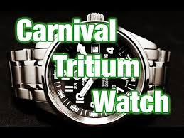 <b>Carnival</b> military style tritium <b>Watch</b> - Review, Measurements and ...