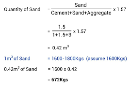 Concrete Measurement Chart Concrete Mix Design Different Grades Of Concrete