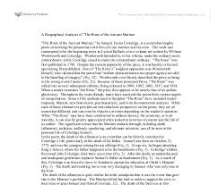 the rime of the ancient mariner essay help catholic religion the rime of the ancient mariner essay