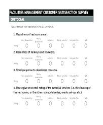Free Survey Template Word Customer Satisfaction Survey Template Free