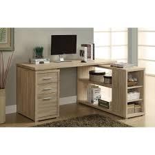 home office l shaped desk. Monarch 2-in-1 Piece Natural Office Suite Home L Shaped Desk