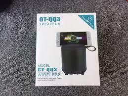 Loa Bluetooth GT-QQ3 Âm thanh lớn, Bass cực tốt nghe nhạc cực êm - có rãnh  làm giá đỡ điện thoại - bảo hành 6 tháng, giá chỉ 199,000đ! Mua ngay kẻo