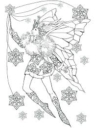 Awesome Fairies Coloring Pages For Adults And Fairy Coloring Pages