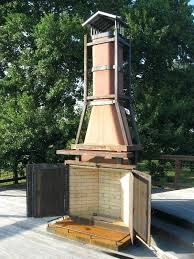 outdoor fireplace chimney s outdoor fireplace chimney height code
