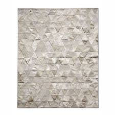 endearing patchwork cowhide rugs at pure kahn ivory area rug wayfair