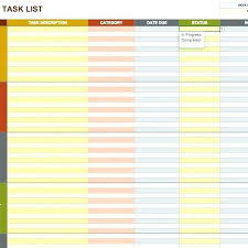 Project Task List Template Word Project List Template Word Task Skincense Co