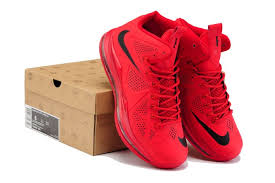 lebron red shoes. christmas limited nike zoom lebron x 10 men sports shoes red black sn004703