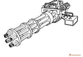Coloring Pages Nerf Gun Coloring Pages Free Stunning Printables