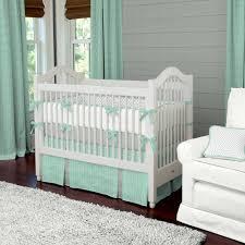 mint green nursery bedding set