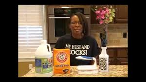 Tile Grout Cleaning (baking soda & vinegar solution) - YouTube