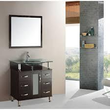 Contemporary Bath Vanity Cabinets Kokols Modern Bathroom 32 Inch Vanity Cabinet Set Overstock