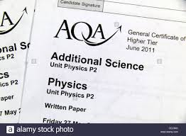 close up the p physics additional science higher written exam  close up the p2 physics additional science higher written exam papers aqa board taken in 2011