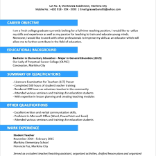 Resume Template : 2 Page Format Free Basic Eduers In One Examples with  regard to One