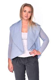 Light Blue Cardigan Outfit Womens Designer Light Blue Snood Cardigan Jacket Outfit
