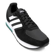 Tênis Adidas 8K Masculino - Preto e Branco