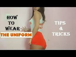 How To Wear The Hooters Uniform