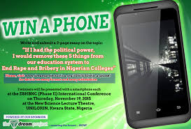 win a phone in our essay competition african democratic dreams win a phone in our essay competition