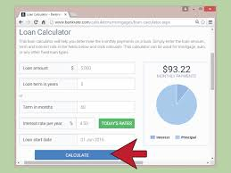 car loan amortization chart how to calculate auto loan payments with pictures wikihow