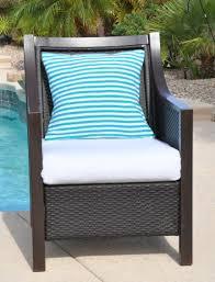 cushion Outdoor Chair Cushion Covers Cushy Chic Single Seat