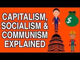 Capitalism Socialism Communism Explained Simply