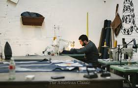 made in philadelphia norman porter co the american classic i ll admit that i had some interview questions to ask these guys but they all just kind of went out the window dave was working on some cuts for leather