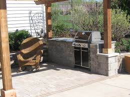 Outdoor Kitchen Patio Weber Outdoor Kitchen Patio Paver Good Precast Concrete Patio