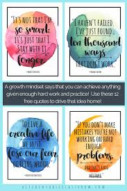 Growth Mindset Quotes Stunning Growth Mindset Quotes For Kids Parents The Kitchen Table Classroom
