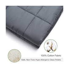 amy garden 7 layers boys girls 100 cotton preminum weighted blanket 40 60 inch 10 lbs for 70 120 lbs individual grey 2 0 s and kids heavy
